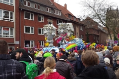Rosenmontag en Münster
