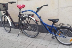 Bicicleta vista en Münster