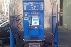 Cabina de teléfono visto en Colonia
