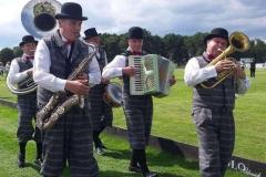 Banda de música en el Polo Picnic de Münster