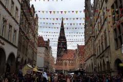 Prinzipalmarkt de Münster en el Rosenmontag